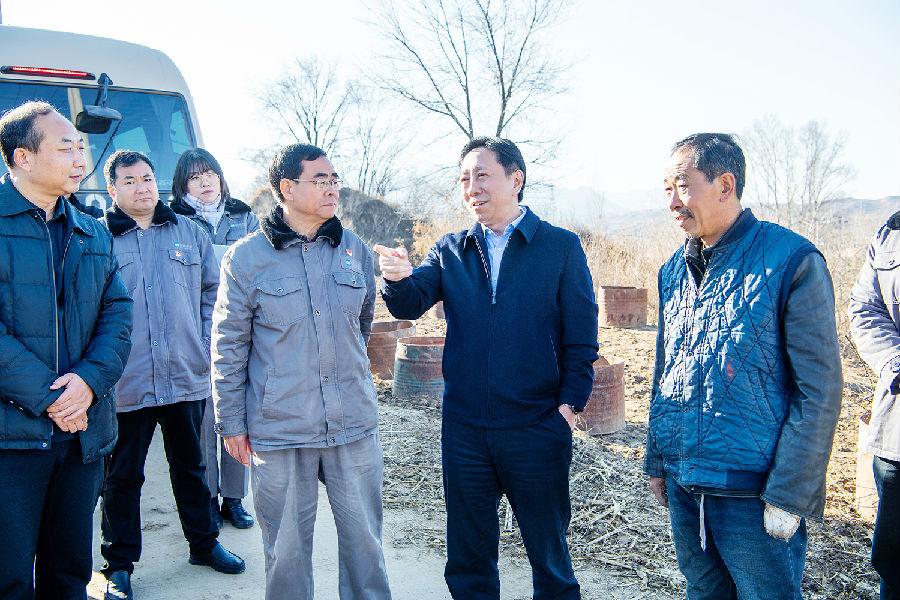 河钢集团领导到涞源调研督导扶贫脱贫工作